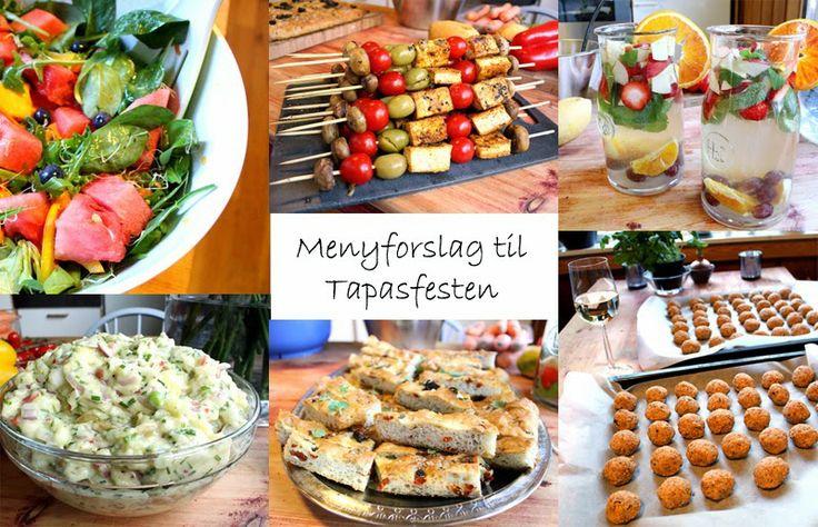 Menyforslag: Innflytningsfest & TAPAS - VeganMisjonen | Oppskrifter på Veganmat og Vegetarmat