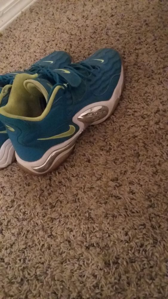 online store 3ee00 2a7b9 men shoes size 13 Nikes Blue and Green Good Condition  fashion  clothing   shoes