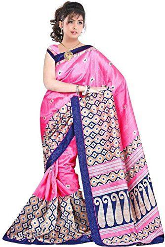Khazanakart Women's Printed Bhagalpuri Silk Saree with Un... http://www.amazon.in/dp/B01CGQT6P0/ref=cm_sw_r_pi_dp_kINxxb1P3XHDA