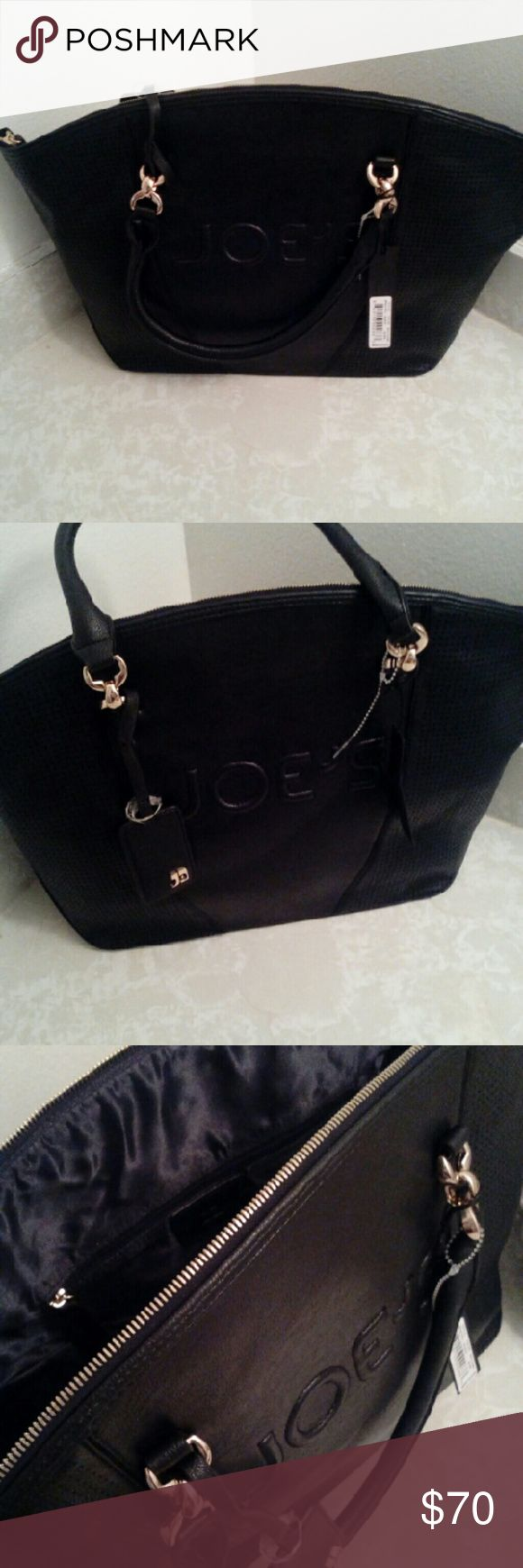 Joe's Oversized handbag!!! Host Pick Very Sexy joes authentic oversized handbags gold details! Org Price $125 please hit the offer button! Please share and feel free to comment and ask question New W/Tags! Joe's Jeans Bags Satchels