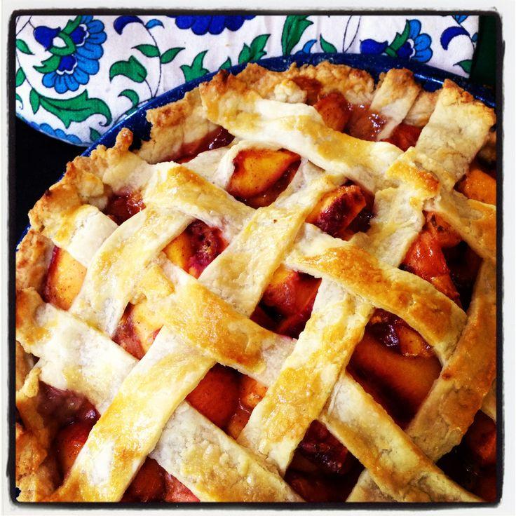Wholefoods peach pie