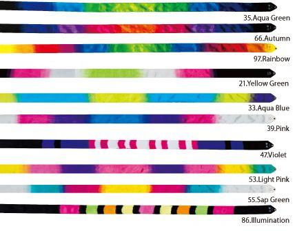 Rhythmic Australia - CHACOTT Ribbon 6metre (Gradation), $40.00 (http://www.rhythmic.com.au/chacott-ribbon-6metre-gradation/)
