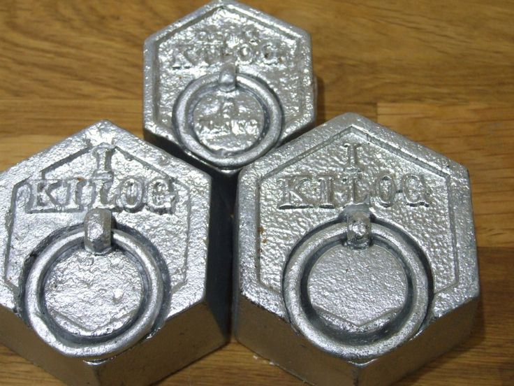 Set Of French Scales Weights // Graduated Scale Weights // Set Of Weights - pinned by pin4etsy.com