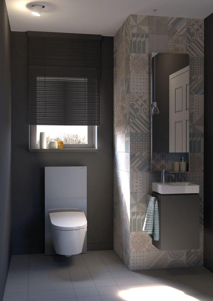 Toilet Aquaclean Mera met Monolith design module