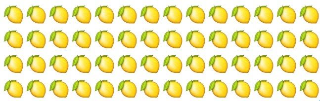 Beyoncés Lemonade Is Making the Lemon Emoji Very Popular