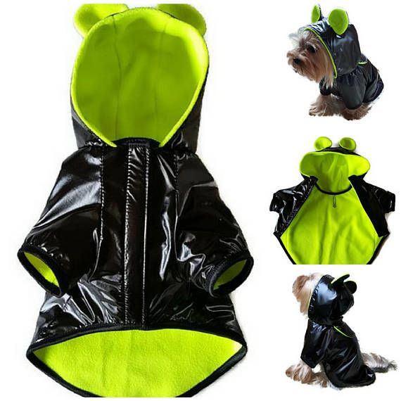 Dog coat,Waterproof dog coat for dog, Winter dog coat, Fleece dog coat, Waterproof dog vest, Dog vest winter, Small dog coat ,Dog clothes small, - Size S: neck ~ 10/26cm chest girth ~ 14/35cm length ~ 10/25cm - Its made out of Waterproof fabric (fine texture) - lining - Fleece soft