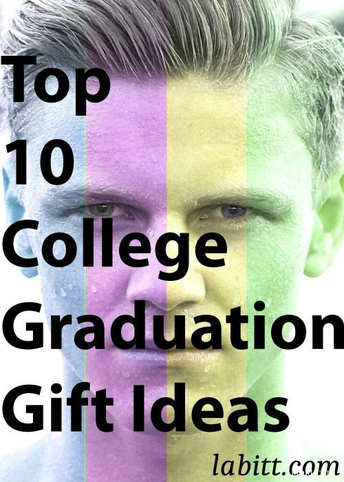 Top College Graduation Gift Ideas for guys, for men, for son