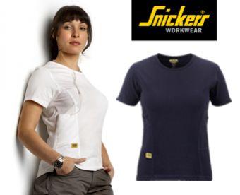 Dámské triko jen za 83 Kč! Vyzkoušejte osvědčenou kvalitu švédské značky SNICKERS, která vyrábí oblečení již 35 let! Barvy: černá, šedá, bílá a navy modrá.
