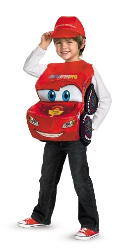 Cars 2 Lightning McQueen Costume Deluxe (One Size) Reviews