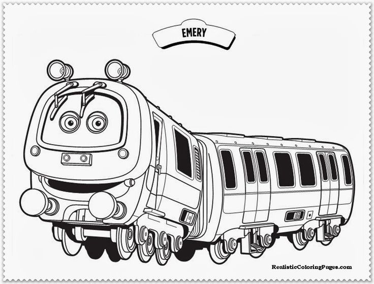 Chuggington Coloring Pages Emerychuggington