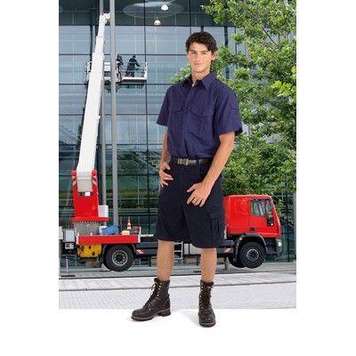 Drill Promotional Work Shirts Min 25 - Cotton drill work short sleeve shirts - 100% cotton. http://www.promosxchange.com.au/drill-promotional-work-shirts/p-3951.html