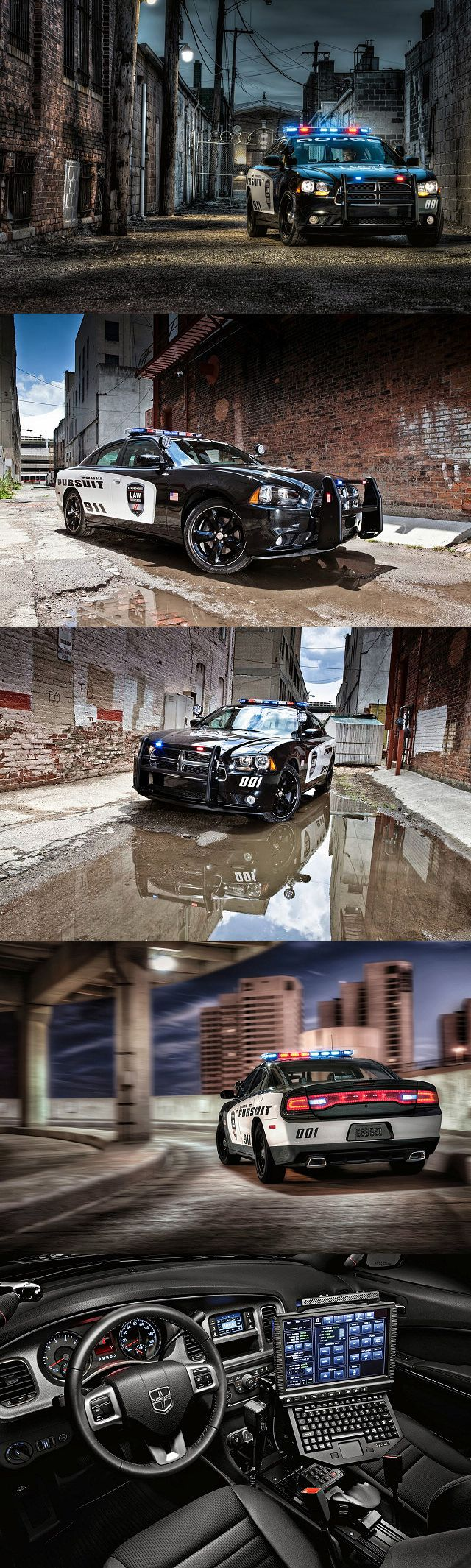 Dodge Charger Pursuit Police car - visit Chrysler's fleet website for complete information at www.fleet.chrysler.com