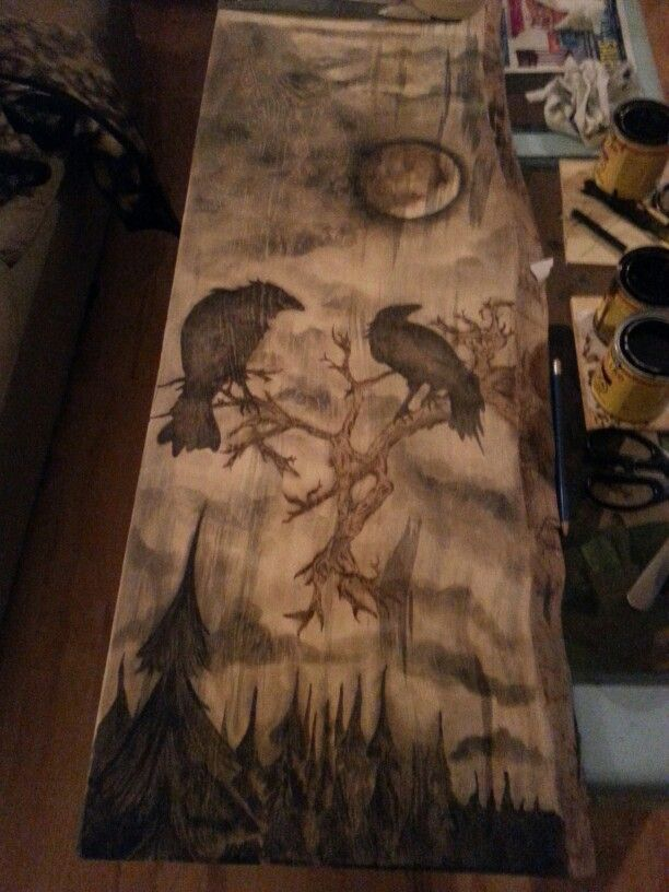 Stain art by Tiffany Pare