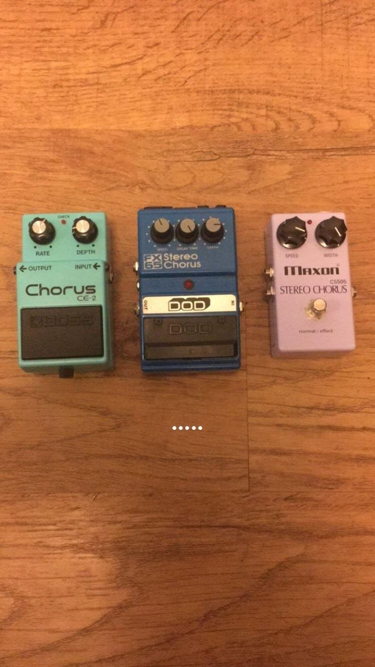 I have a problem...Not pictured- Boss ps-5 with detune setting zoom ms50 with 6 chorus programs Princeton chorus amp lexicon reverb unit with chorus setting. (and yes I've used them all at the same time.) #npd
