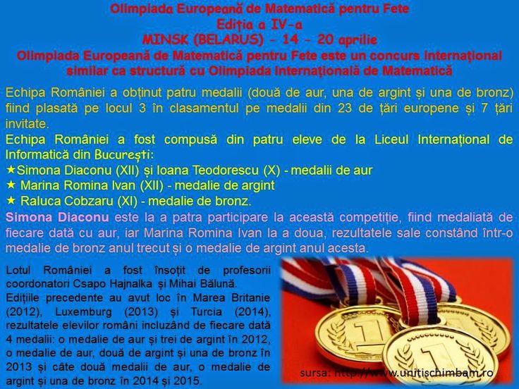 Profu`economist: 4 medalii pentru echipa României la Olimpiada Euro...