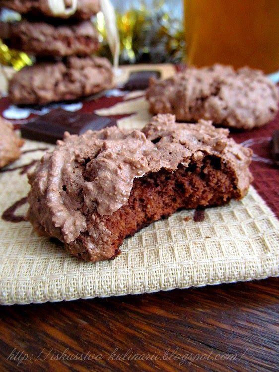 Постигая искусство кулинарии... : Шоколадное печенье-безе