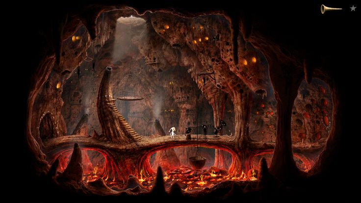 Amanita Design, Samorost 3 - Red cave