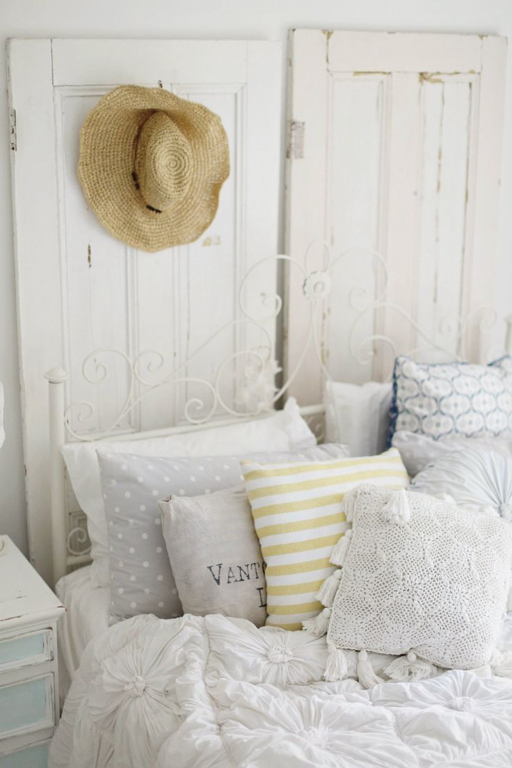 Beach cottage bedroom -