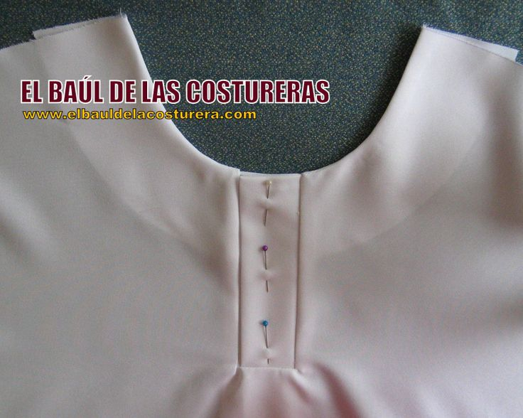 Placket for Polo type style - Method 1