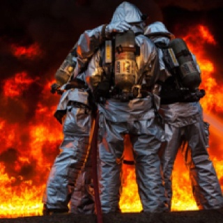 marine corps firefighters