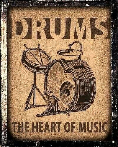 Drums @ the heart of it