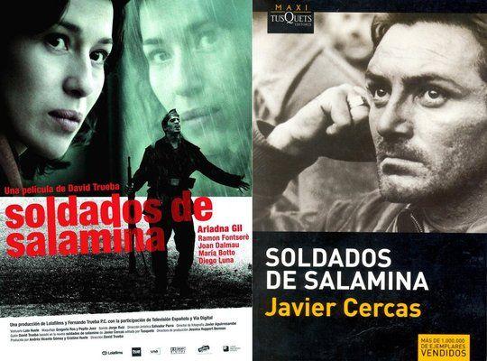 La novela Soldados de Salamina del escritor Javier Cercas, una historia personal de la Guerra, llevada a la pantalla por David Trueba.