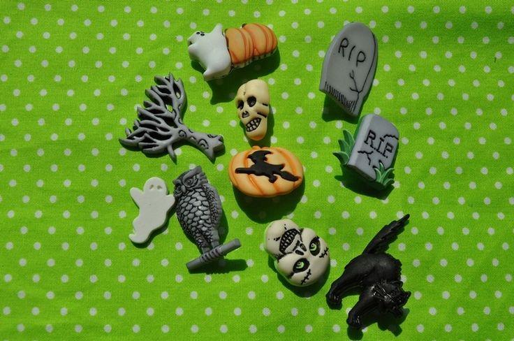 Kinderknöpfe - Knopfset - Graveyard - ein Designerstück von Kruemel-Design bei DaWanda