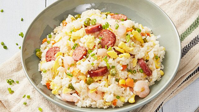 20-Minute Yang Chow Fried Rice Recipe