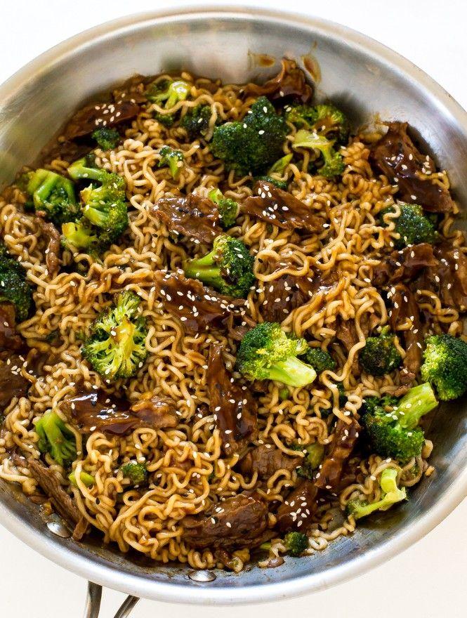 Beef & Broccoli Ramen Noodles | Food Recipes