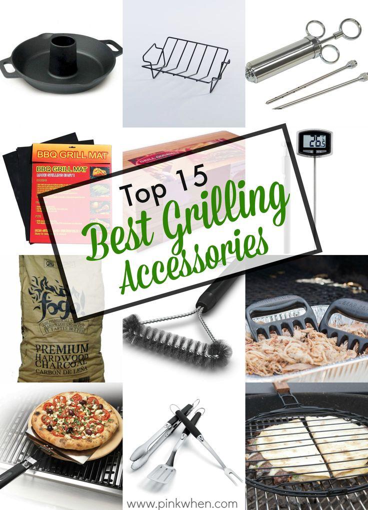 Top 15 Best Grilling Accessories via PinkWhen.com