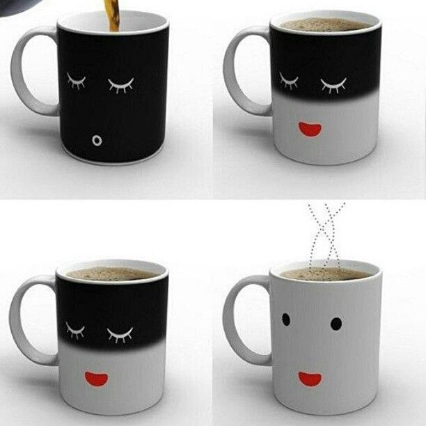 smart idea porcelain coffee mugs. I want one of these mugs  Anything that just might make you smile as drink your morning coffee is a very good thing Wakey Eggs Bakey 102 best images on Pinterest Funny cups Coffee