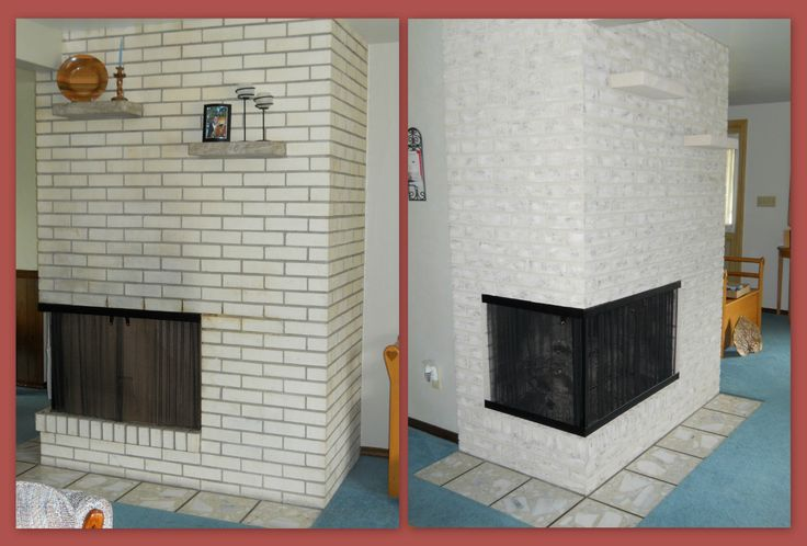 17 Best Images About Painting Brick With Brick Anew On Pinterest Painted Brick Fireplaces