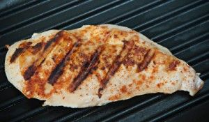 Simple Boneless Grilled Chicken Breast recipe for the George Foreman Grill. This simple and versatile recipe makes a great quick dinner and is perfect for salads too.
