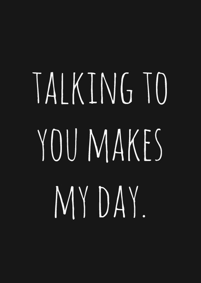 Seriously.. Makes my day like no one would ever understand !! I get butterflies just thinking about him and it drives me crazy !!!