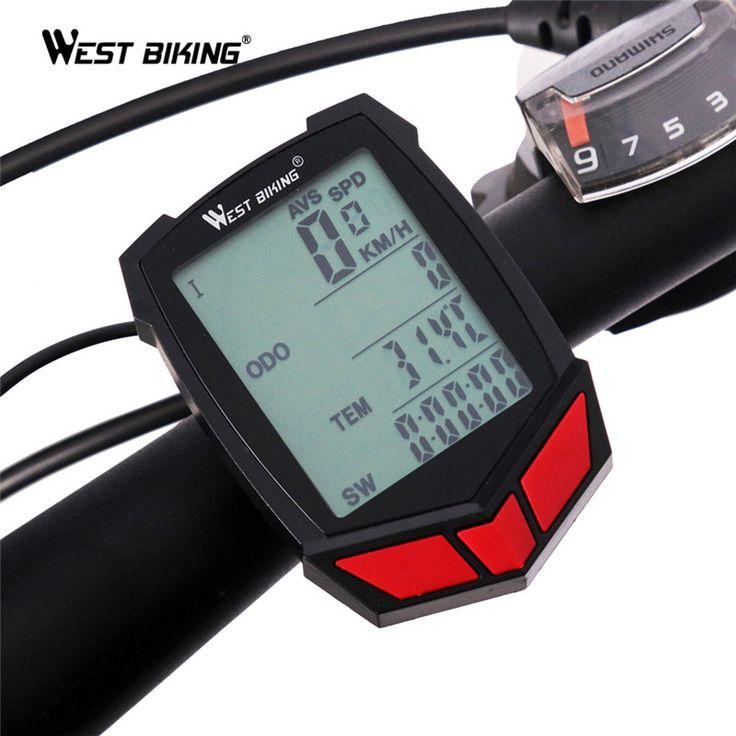 西サイクリングバイクコンピュータワイヤレス20機能スピードメーターオドメーターサイクリングコンピュータワイヤレス+自転車ストップウォッチバイクコンピュータ