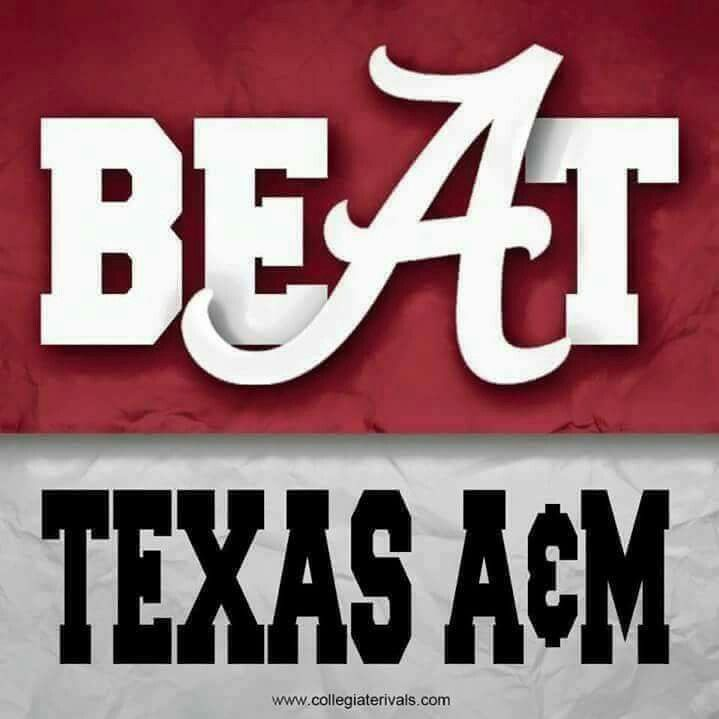 ALABAMA Football vs Texas A&M