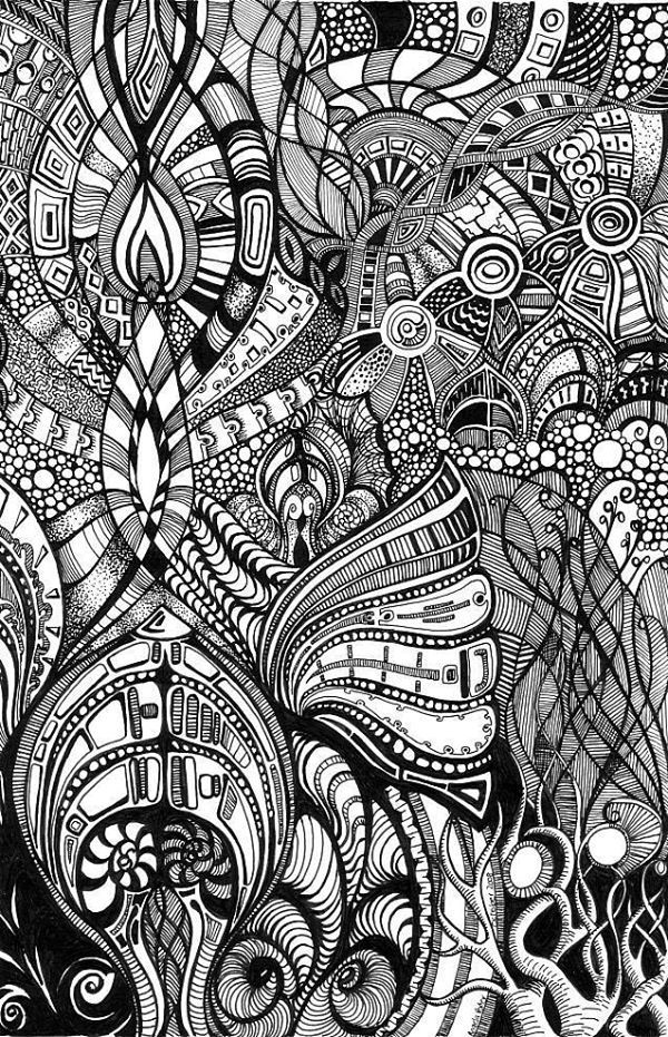 Line Drawing Doodles : Best images about coloring on pinterest gel pens