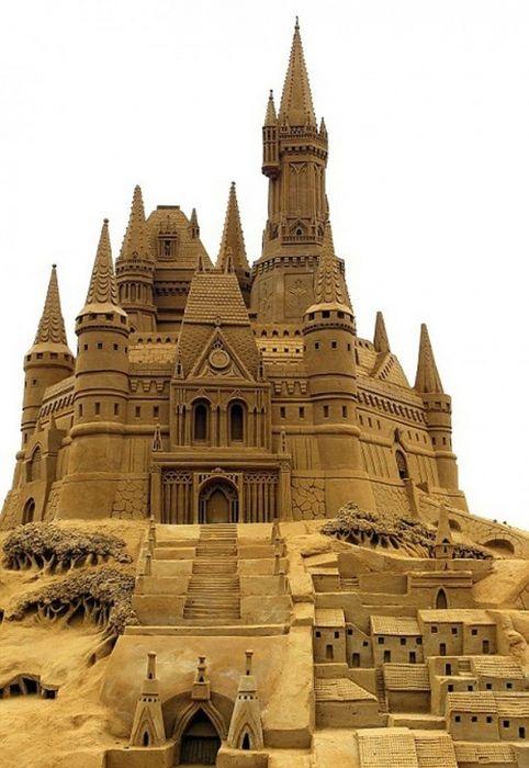 Красивые замки из песка. Обсуждение на LiveInternet - Российский Сервис Онлайн-Дневников