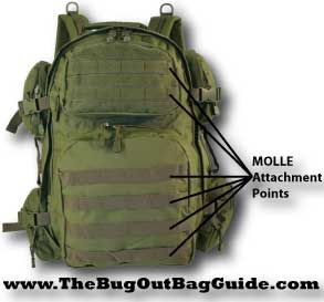 How To Pick The Best Bug Out Backpack: Understanding what MOLLE is