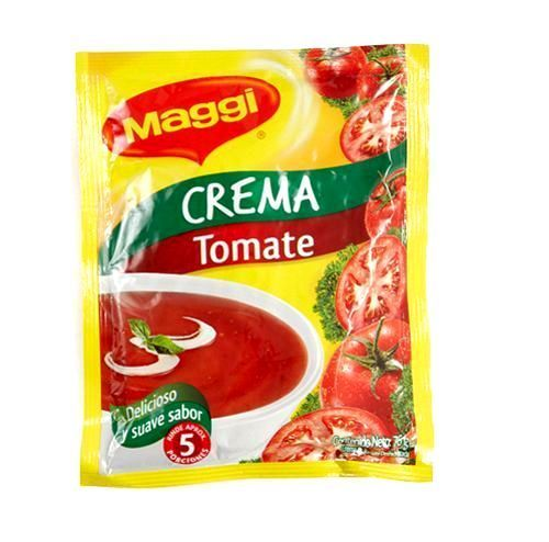 5x Pack Maggi Cream of Tomato Soup Lot - Maggi Sopa Crema de Tomate Colombia 76g