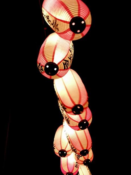 Japanese paper lanterns, Chochin 提灯