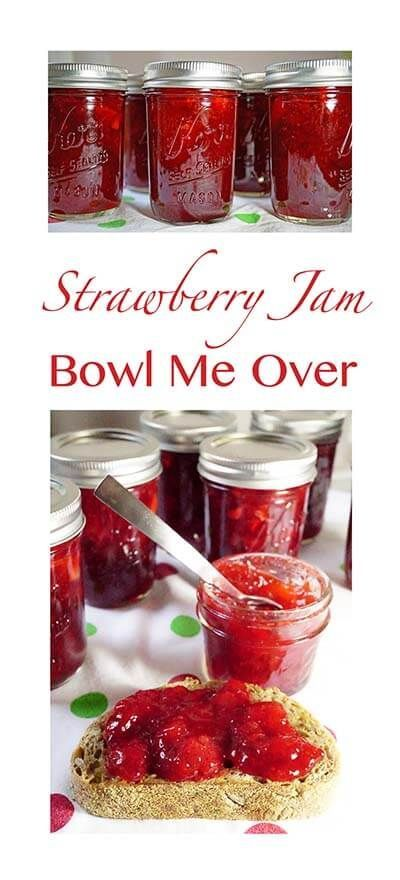 Homemade Low Sugar Strawberry Jam is 100 times better than what you can find in a store and is super easy to make - the MOST REQUEST jam ever!