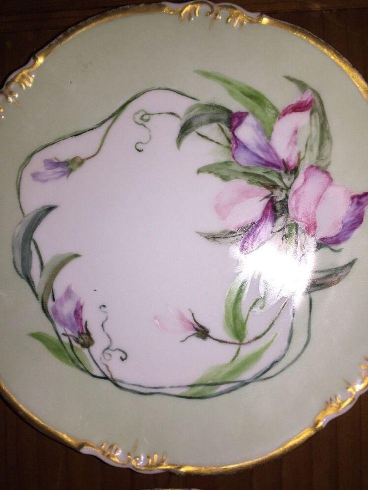 Set/4 A K D Limoges França mão pintada floral Artesão Placa Amor-perfeito Lilás Violeta | Cerâmica e vidro, Cerâmica e porcelana, Porcelana e aparelhos de jantar | eBay!