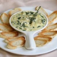 TGIFriday's spinach artichoke dip - this recipe really tastes like the restaurant's