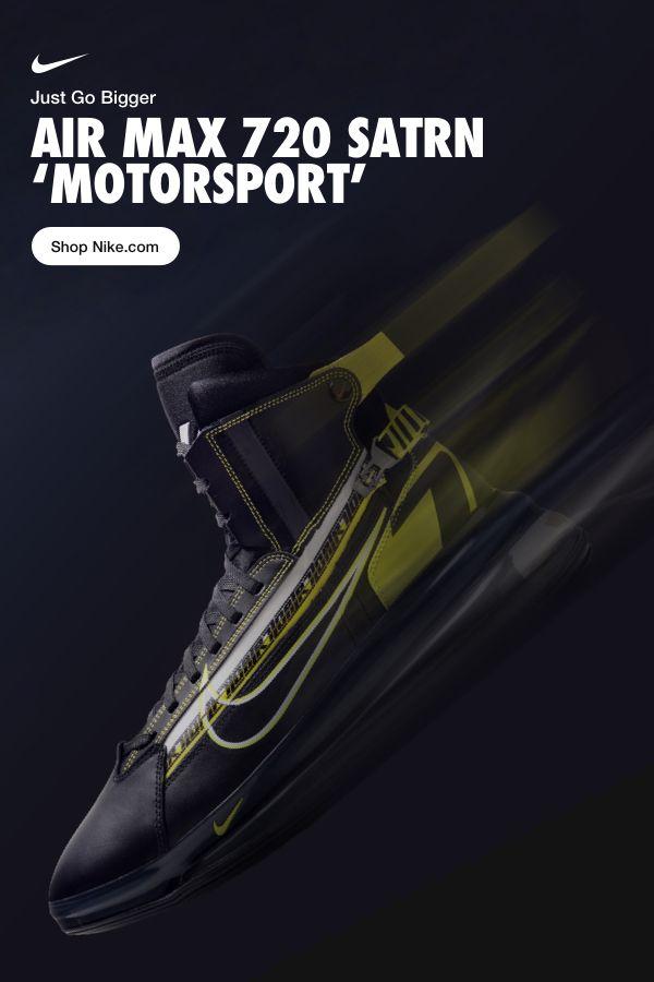 size 40 590f8 af984 Air Max 720 Satrn  Motorsport . Cushioning that looks as good as it feels.  Go bigger on Nike.com.