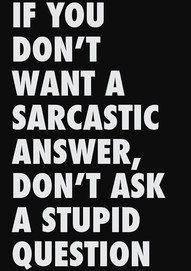 Stupid people make me sad. Lol