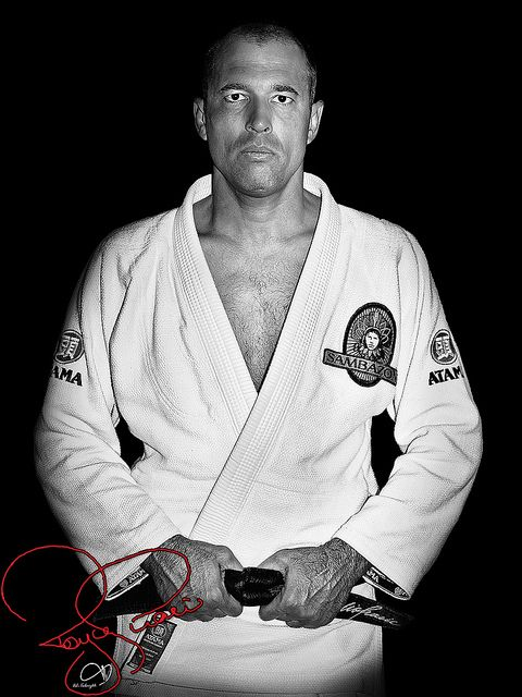 Royce Gracie - father of modern MMA; trained with him after 2nd UFC in Torrence, CA