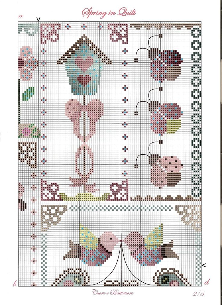 Cuore e Batticuore - Spring in Quilt - pattern part 2 of 4