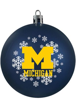 Michigan Wolverines Shatterproof Ornament