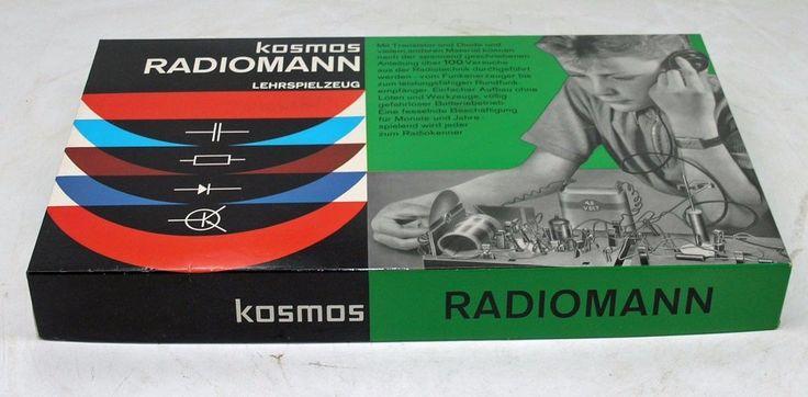Kosmos Radiomann mit Röhre EF98 Experimentierkasten + Handbuch Zusatz -HF | eBay